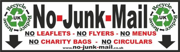 buy no junk mail signs stickers no cold calling signs stickers